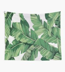 Tela decorativa Tropical banana leaves VI
