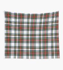 Clan Stewart Dress Tartan Plaid Pattern Wall Tapestry