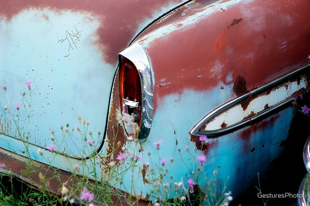 Blue Car by GesturesPhoto