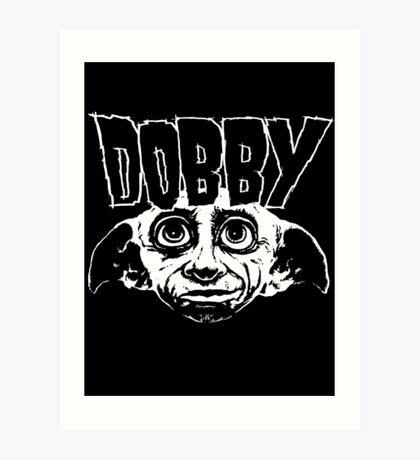 Dobby Band Shirt Art Print