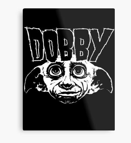 Dobby Band Shirt Metal Print