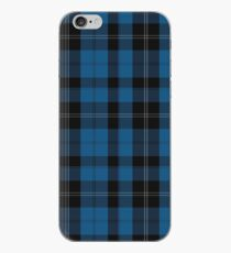 Blauer Clan Ramsay, der Tartan-Plaid-Muster jagt iPhone-Hülle & Cover