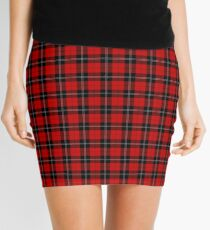 Minifalda Clan Ramsay Tartan Plaid Pattern