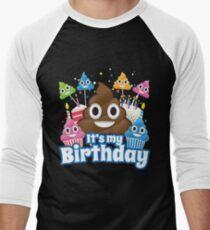 It's My Birthday Poop Emoji Funny Shirt T-Shirt