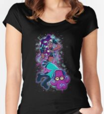 Queen of the Deep Women's Fitted Scoop T-Shirt