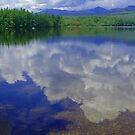 Clouds in the Water by mcrowleyphoto