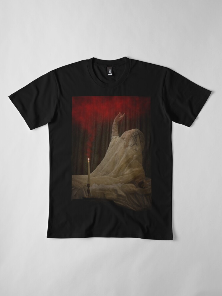 Alternate view of The Queen Lay Dying Of Her Own Will Premium T-Shirt