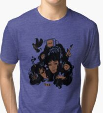 62d32923d Sza Ctrl Alternate Album Art Tri-blend T-Shirt