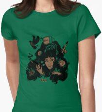 Sza Ctrl Alternate Album Art Women's Fitted T-Shirt