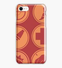 Red Team Emblems iPhone Case/Skin