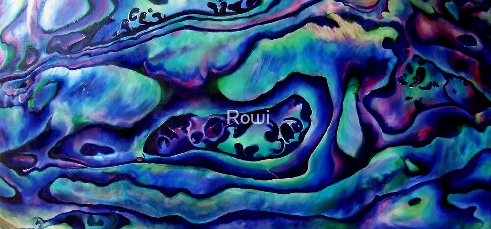 Detail Paua by Rowi