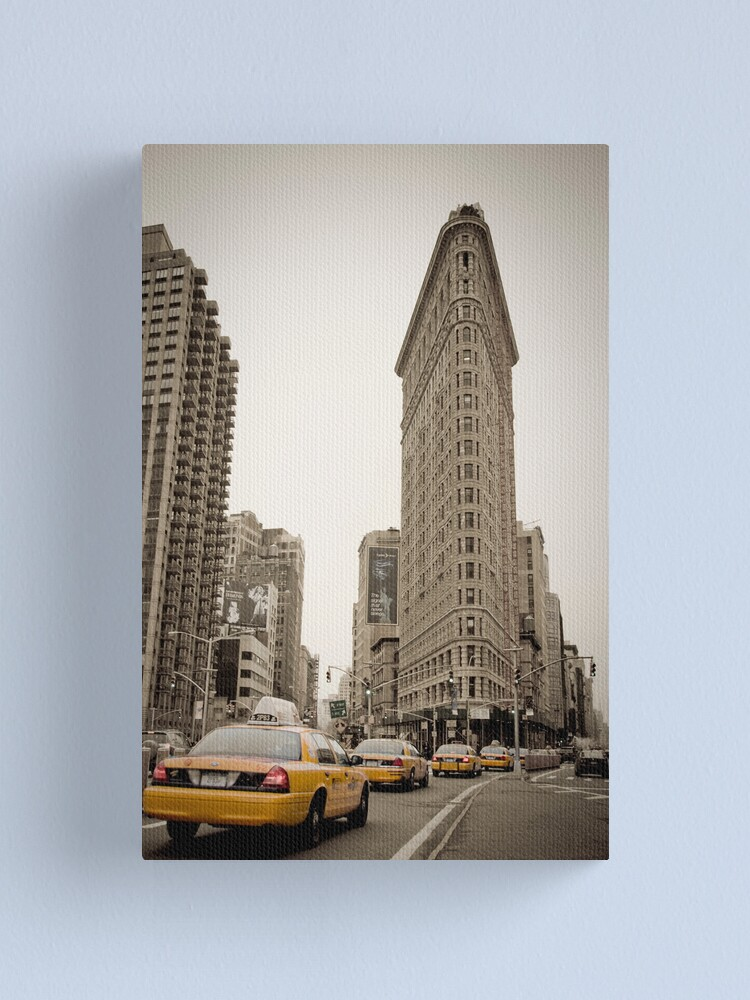 Alternate view of Flatiron Building. New York City. Canvas Print