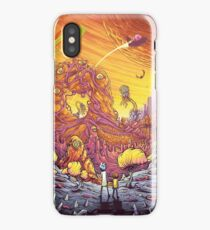 Rick and Morty artwork iPhone Case/Skin