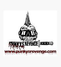 Punky's Revenge Knife Photographic Print