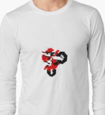 excitebike Voxel art  T-Shirt
