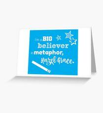 Metaphor Greeting Card
