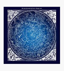 Constellations Star Map Photographic Print