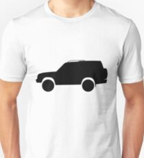 Land Rover Discovery - Series II (L318; 1998–2004) black T-Shirt