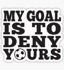 Soccer Keeper Goalie Defender Sticker