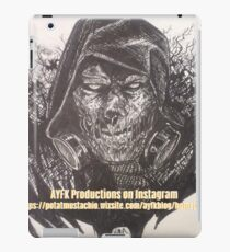 Gotham will know the meaning of fear iPad Case/Skin