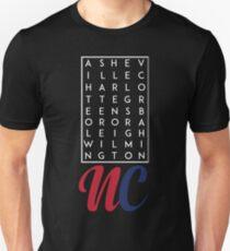 North Carolina Cities T-Shirt