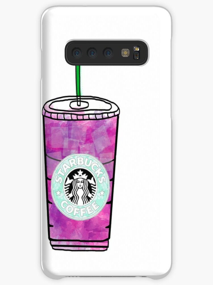 Starbucks Berry Hibiscus Refresher Cases Skins For Samsung Galaxy