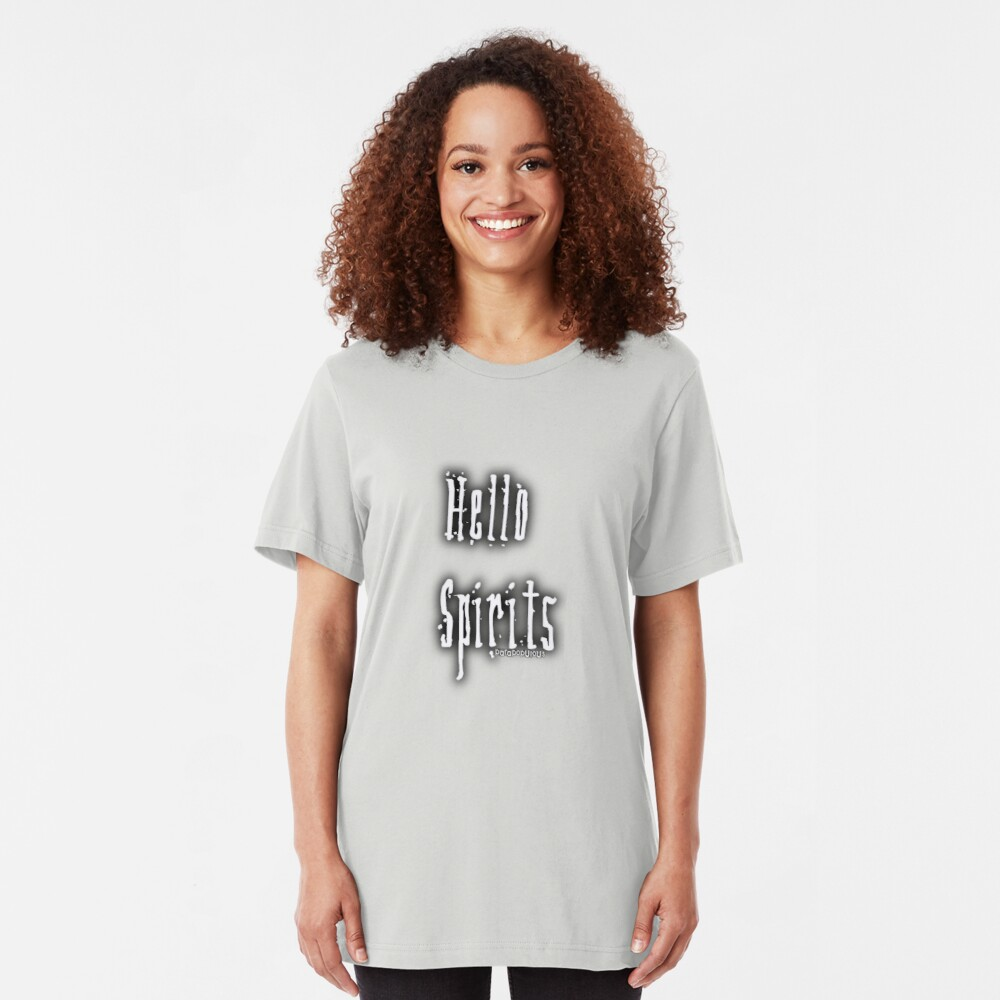 Hello Spirits Slim Fit T-Shirt