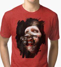 Marilyn Manson art Tri-blend T-Shirt