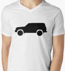 Toyota land cruiser 80 series black T-Shirt