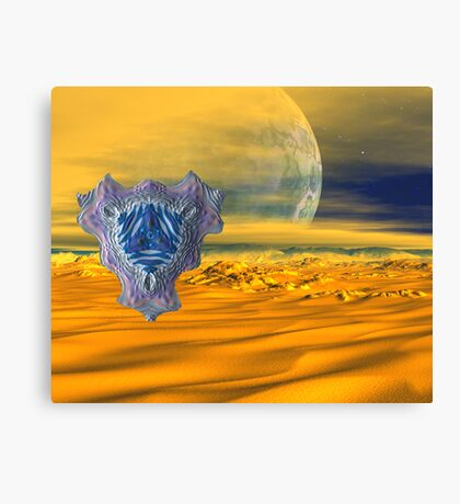 The Desert Scritch Canvas Print
