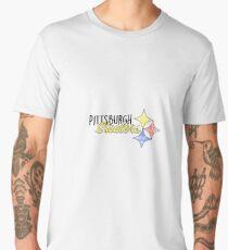 Pittsburgh Steelers Watercolor Men's Premium T-Shirt
