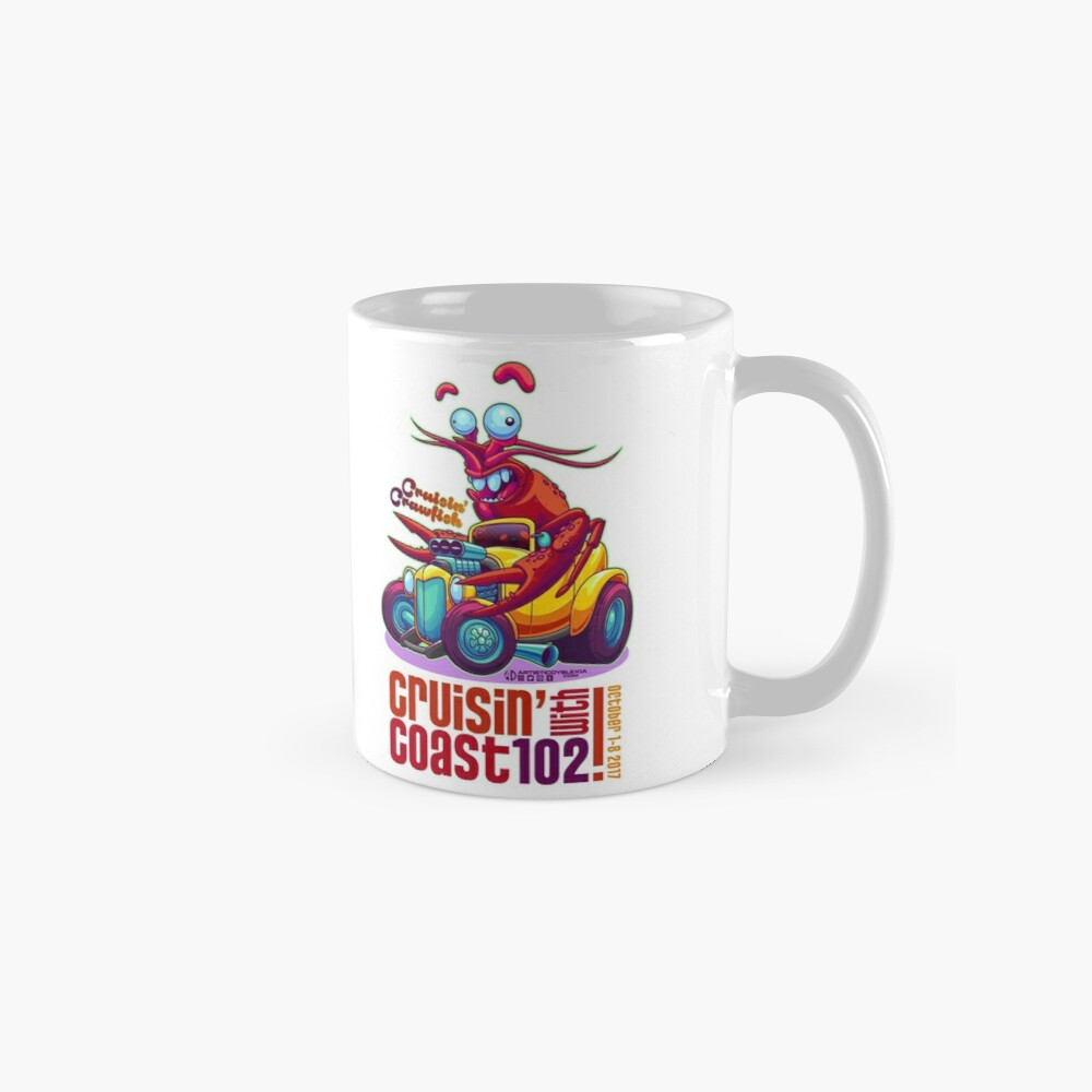Cruisin' with Coast 102 - 2017 Mug
