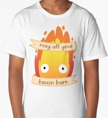May All Your Bacon BURN Long T-Shirt