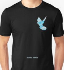 Off White Fan Art Blue Birds T-Shirt