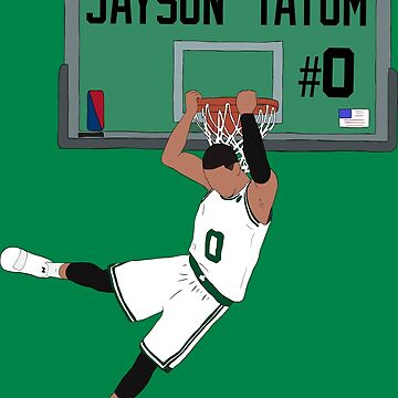 Jayson Tatum Dunk by RatTrapTees