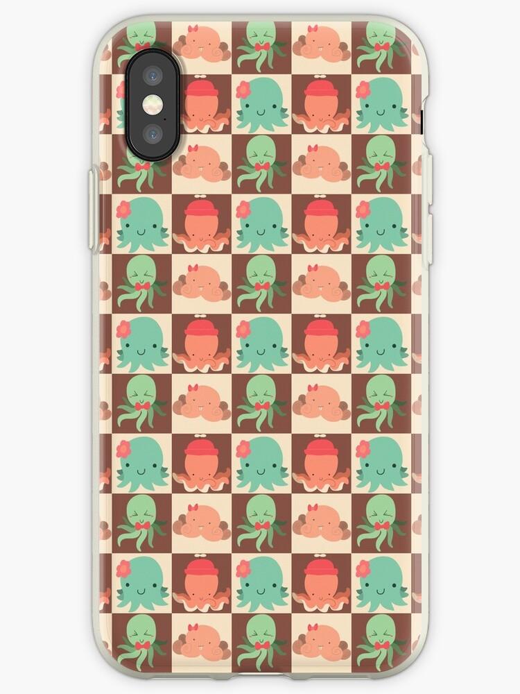 Cute Silly Octopus Pattern by SaradaBoru