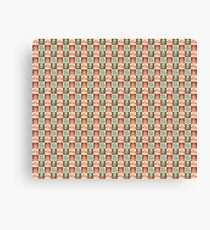 Cute Silly Octopus Pattern Canvas Print