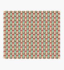 Cute Silly Octopus Pattern Photographic Print