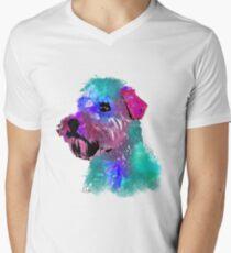 wheaten terrier watercolor pet portrait | Harry Men's V-Neck T-Shirt
