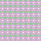 Pink and Green Daisy  by Margi