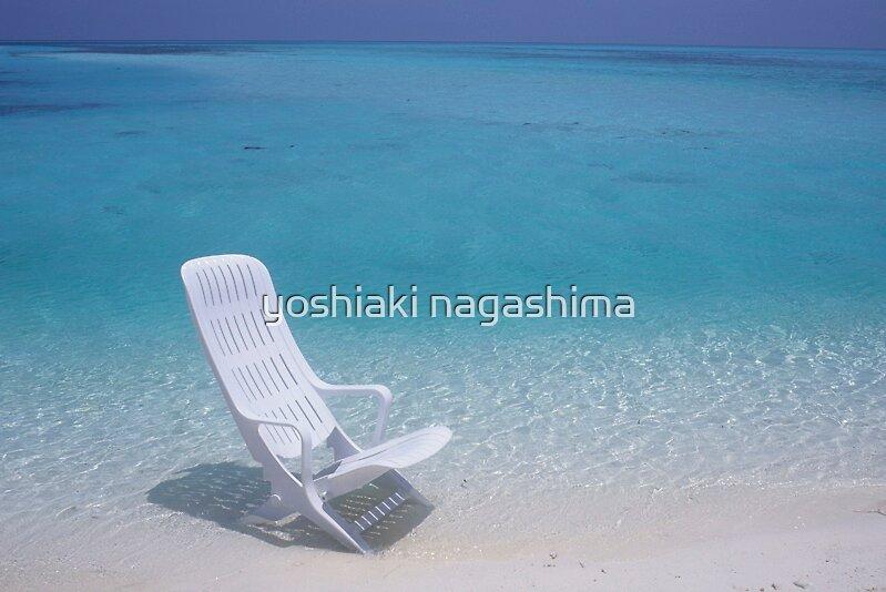 MY   CHAIR  ,   Maldives  by yoshiaki nagashima