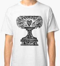 Black Heart Flame Classic T-Shirt