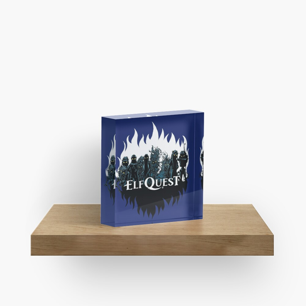 Elfquest: Trouble in the woods Acrylic Block