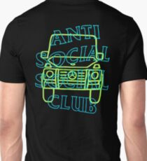 Anti Social Social Club ASSC RSVP Gallery Fan Art Collaboration T-Shirt