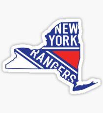 New York State Rangers  Sticker