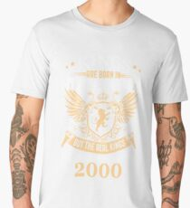 Legends Are Born In November 2000 Men's Premium T-Shirt