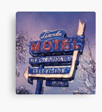Lincoln Motel Canvas Print