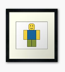 Roblox - It's a Noob Guy! Framed Print