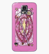 CardCaptor Sakura Magic card wands Case/Skin for Samsung Galaxy
