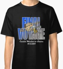 Cassini Final Voyage Grand Finale NASA Space Mission to Saturn Classic T-Shirt